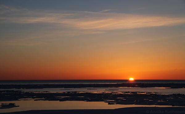 Sunset in Saulkrasti II